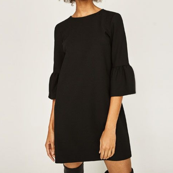 Zara Black Dress Size Medium
